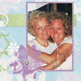 Mom and I at the Lake
