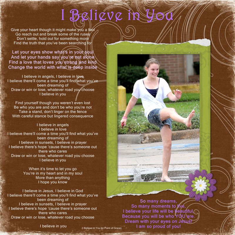 2012 ~ I Believe in You - Page 021